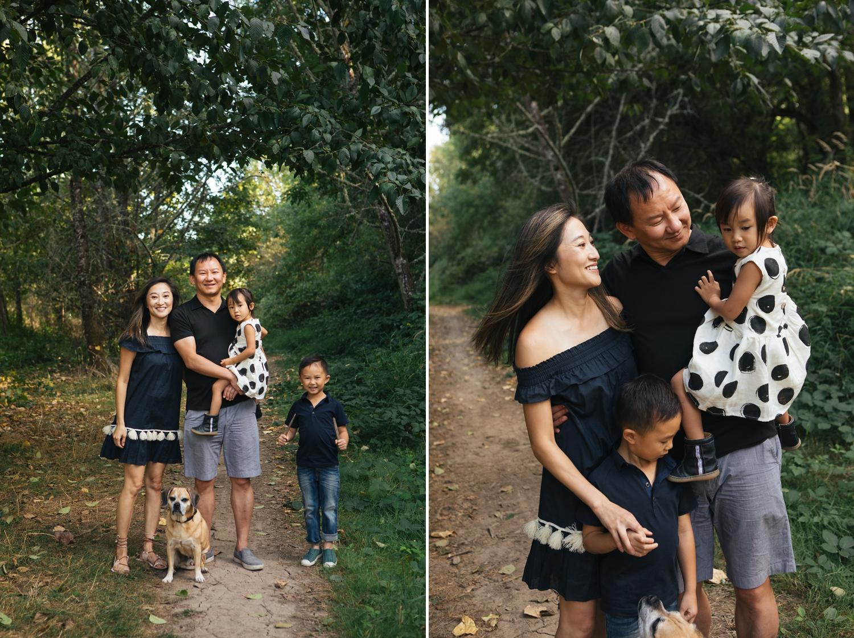 Family portraits in Corvallis